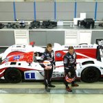 Zytek LMP2 - Martin and Alex Brundle photoshoot
