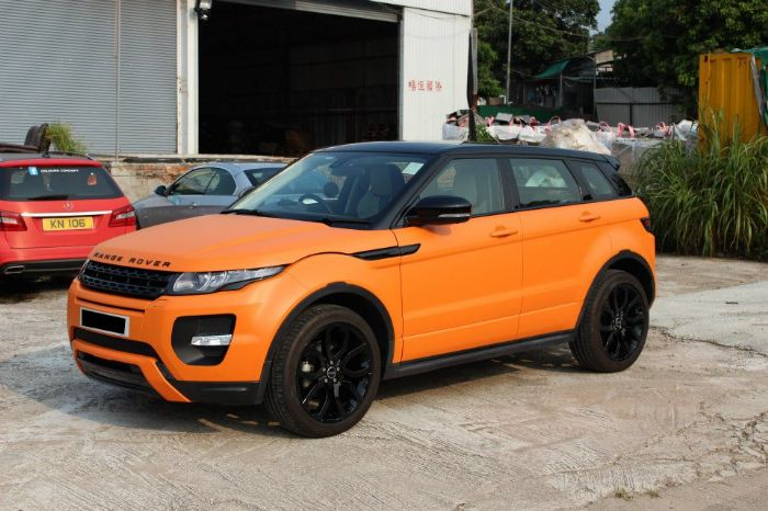 Customized Color Range Rover Evoque Forums