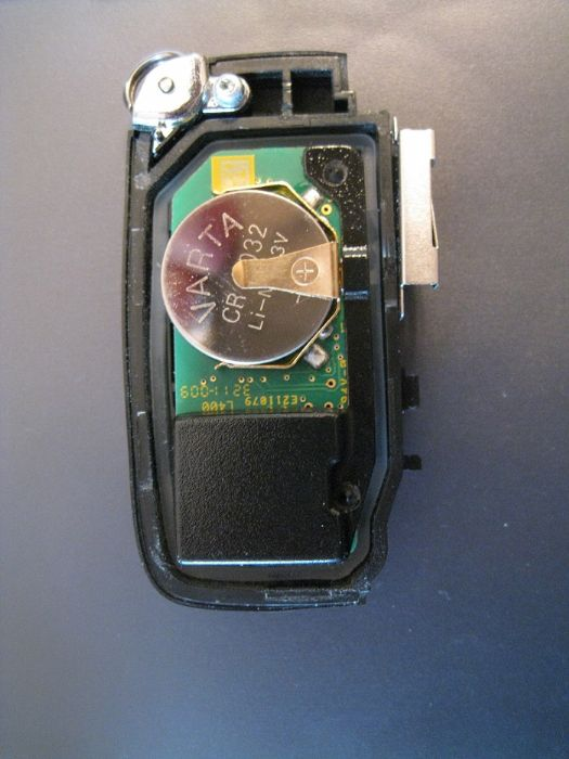 Key-fob battery change - Range Rover Evoque Forums