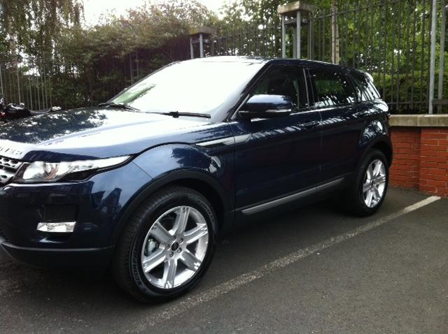 Range Rover Evoque Baltic Blue Baltic Blue - Range Ro...