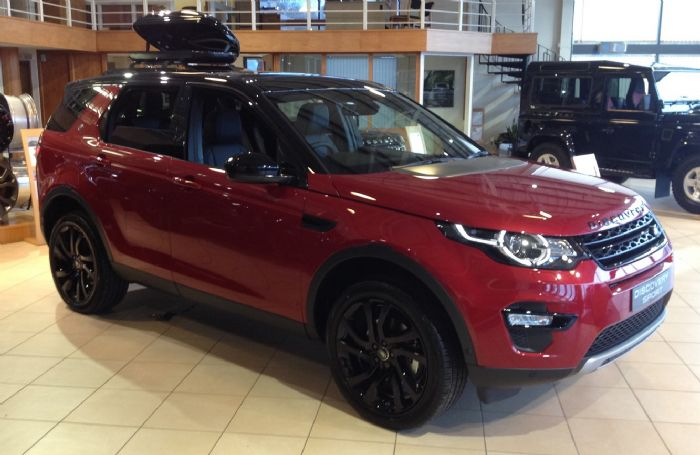 Unveiling Of The New Lr Discovery Sport Range Rover