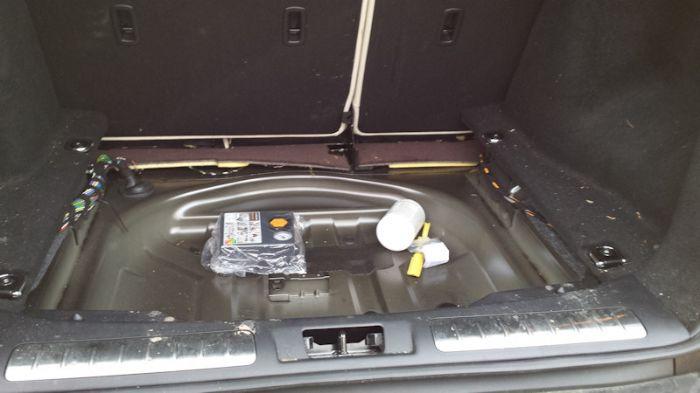 Does Range Rover Evoque Have A Spare Wheel
