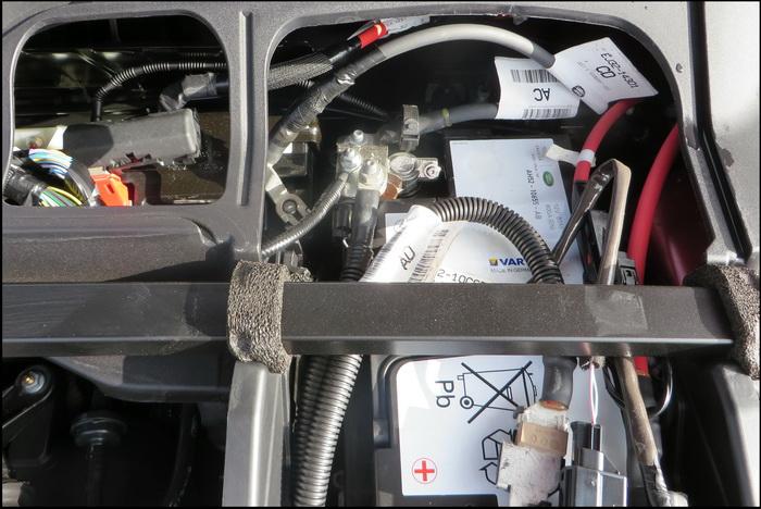 range rover evoque batteria