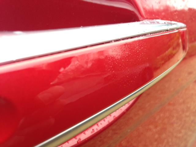 Paint blistering! - Range Rover Evoque Forums