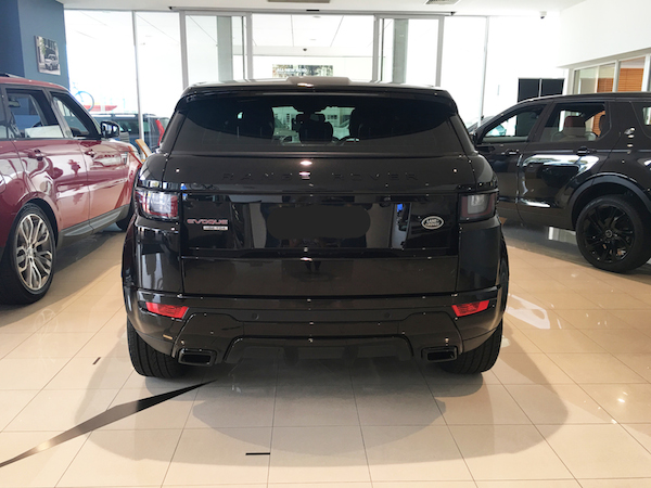 my blackout evoque has arrived range rover evoque forums. Black Bedroom Furniture Sets. Home Design Ideas